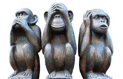"""Les trois singes de la sagesse : un imaginaire qui a inspiré la pochette de l'album """"Monkey Me"""". Qu'en sera-t-il de celle du single éponyme ? La parole est aux fans..."""