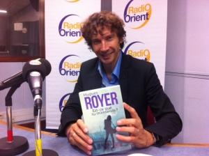 """Un grand merci à Loïc Barrière de m'avoir reçu pour une interview dans """"La Grande Bibliothèque"""", l'émission culturelle incontournable de Radio-Orient."""