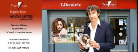 Si vous voulez un petit mot personnel de l'auteur, n'hésitez pas à faire un tour dans cette sympathique librairie du quartier des Batignolles...