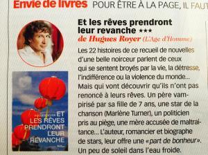 Une chronique très enthousiaste signée Ariane Valadié dans la célèbre rubrique